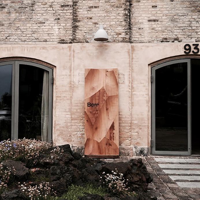 Restaurant BARR industrial facade