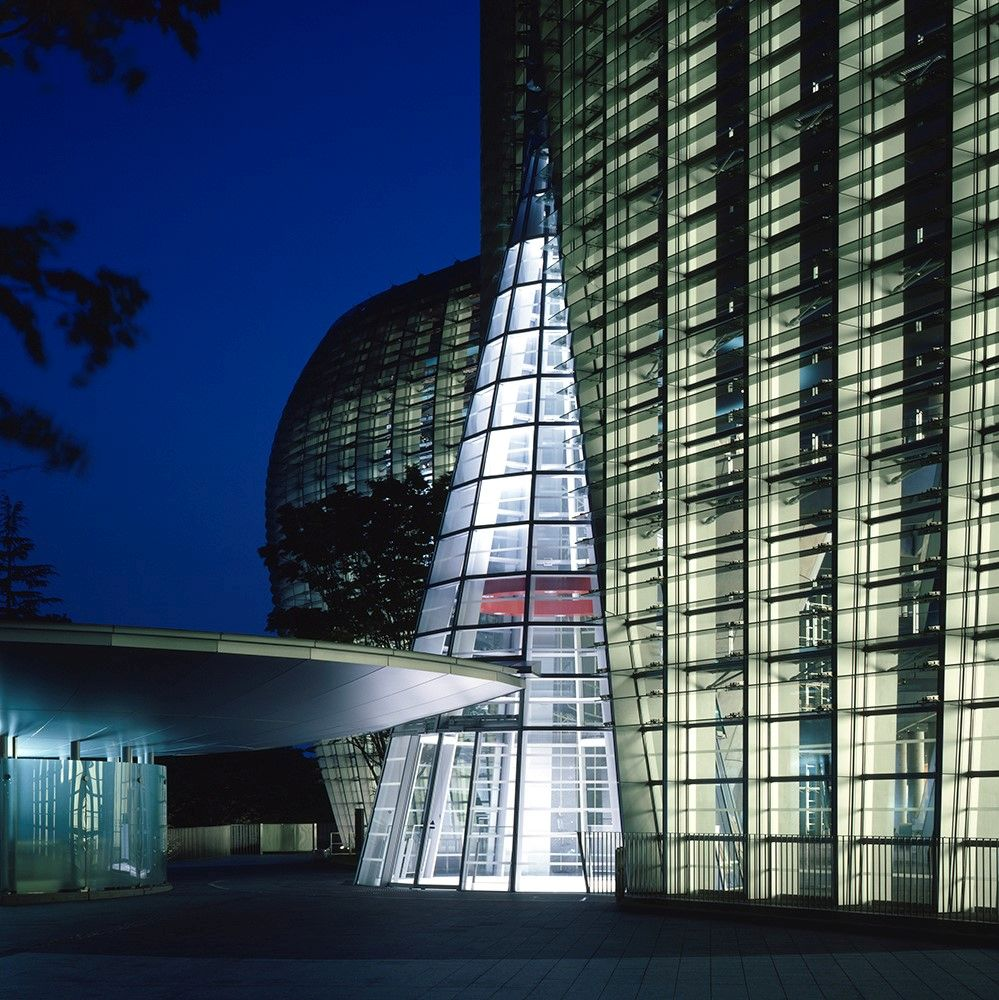 Extrance of the National Art Center in Tokyo