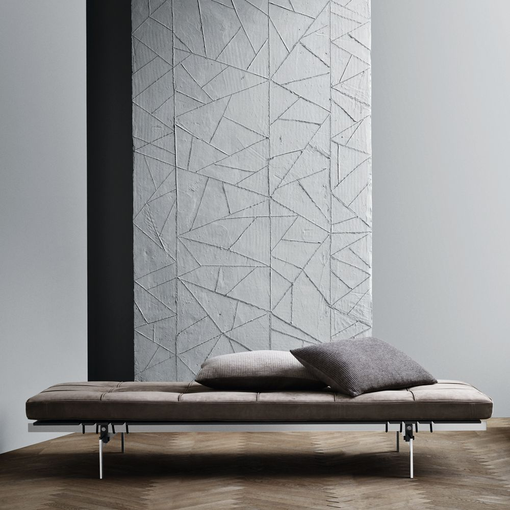 Daybed crafted with Sørensen Leather ROYAL NUBUCK