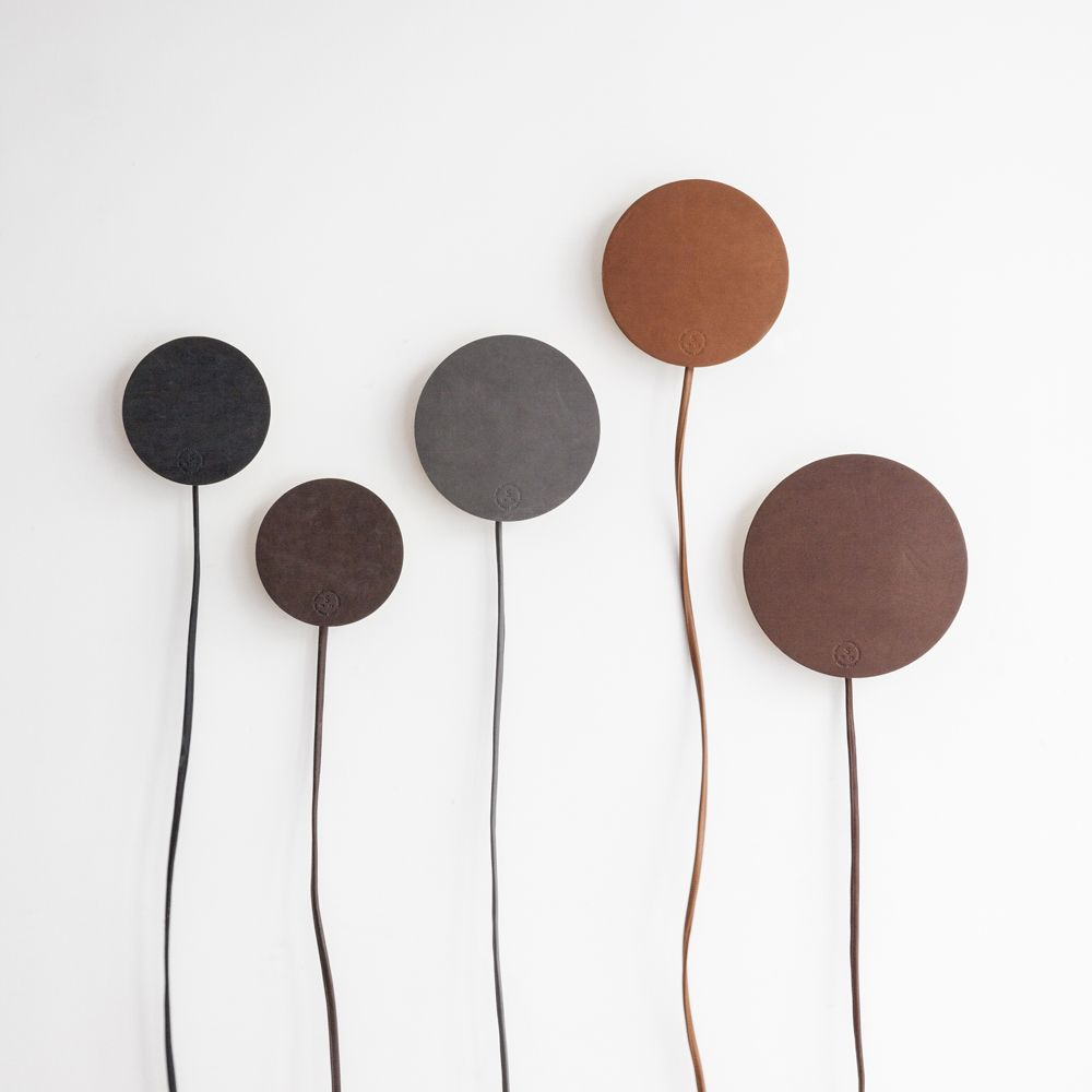 Leather Drift Lamps