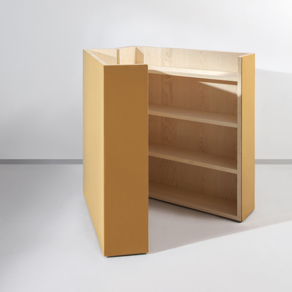 FLUX® room divider and cabinet in Ginger
